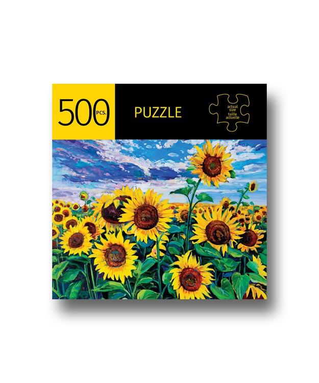 SunflowerFieldDesignPuzzle500Pieces