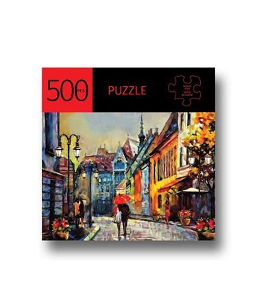 StrollingwUmbrellaDesignPuzzle500Pieces
