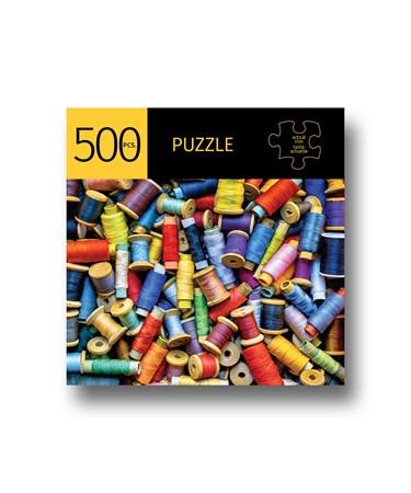 ThreadSpoolsDesignPuzzle500Pieces