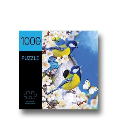BirdswCherryBlossomsPuzzle1000Pieces