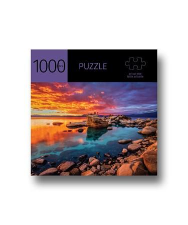 SunsetLakePuzzle1000Pieces