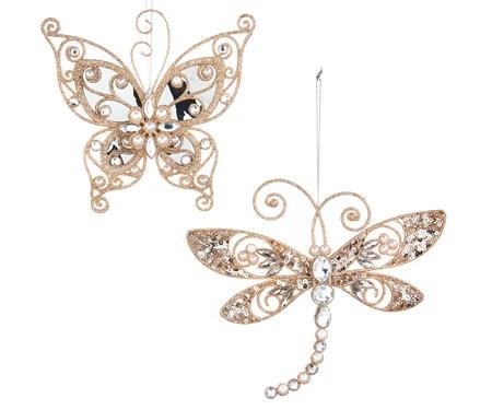 ButterflyDragonflyOrnament2Asst