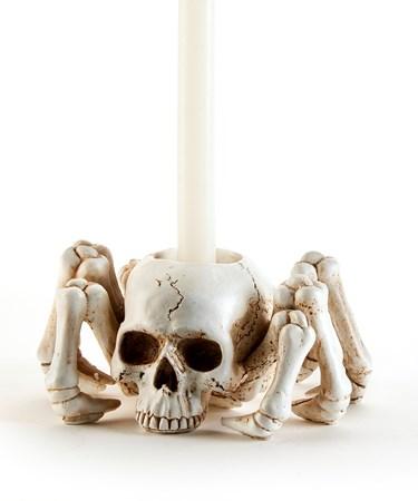 SkullCandleHolder