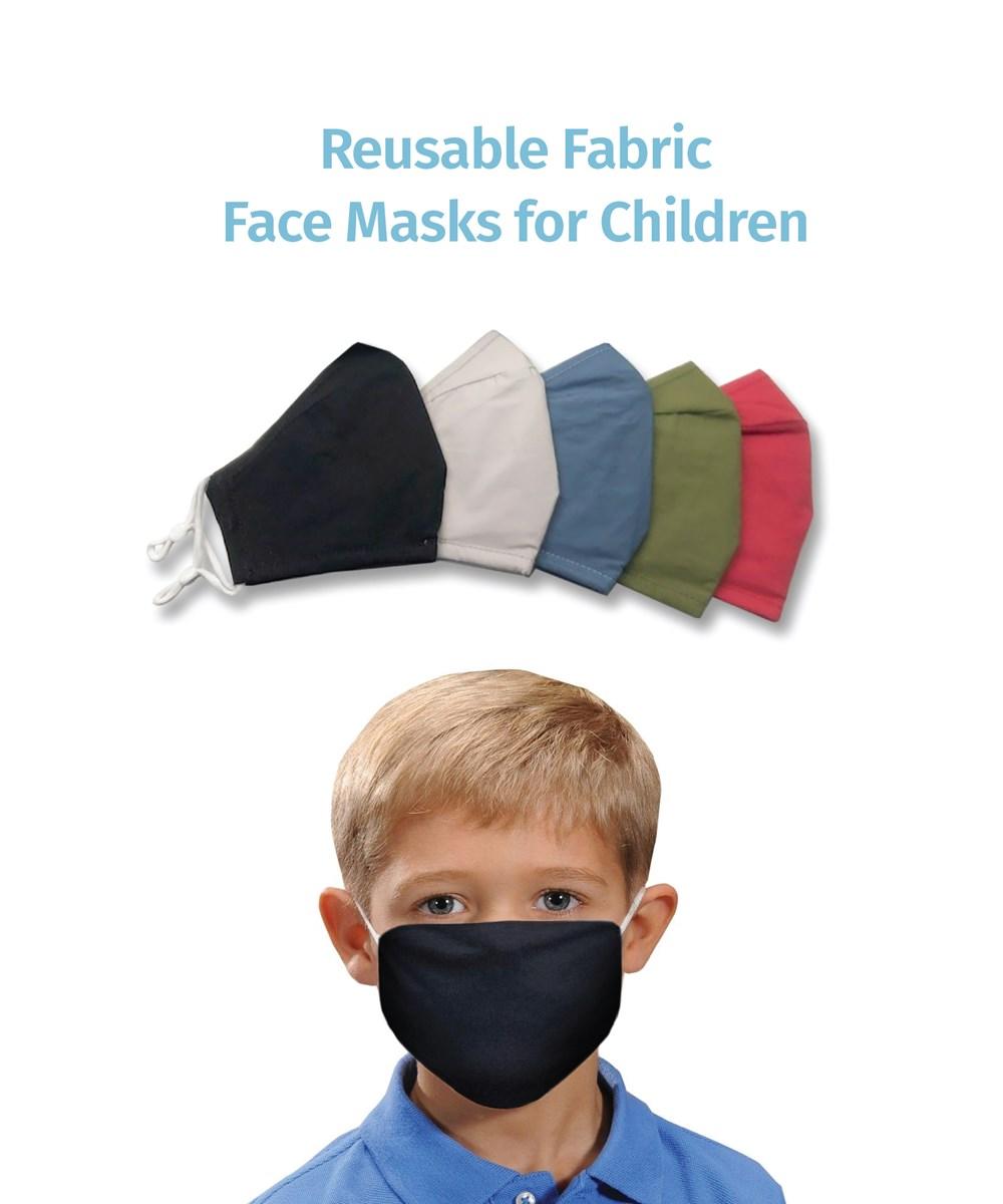 ReusableFabricMaskforChildren5Asst