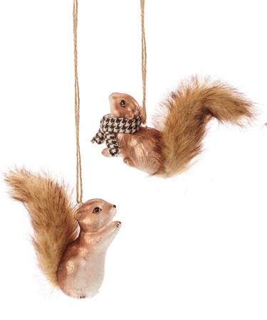 SquirrelOrnament2Asst