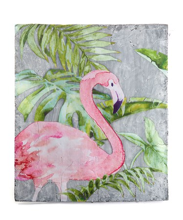 FlamingoWallDecor