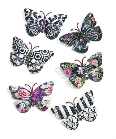ButterflyDesignWallDeacutecor6Asst