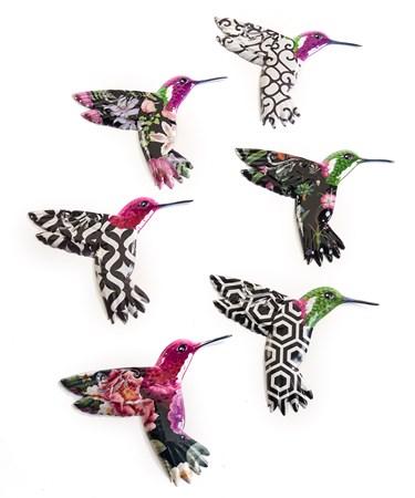HummingbirdWallDecor6Asst