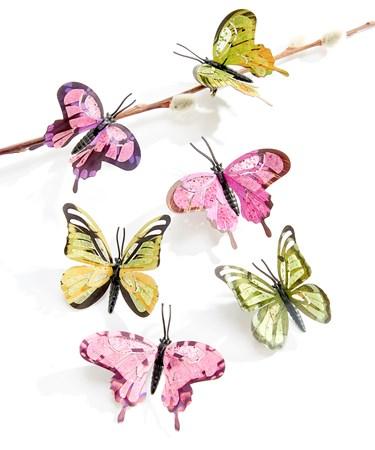 ButterflyClips6Asst