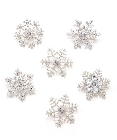 SnowflakeBrooch6AsstwDisplayer