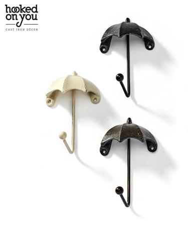 UmbrellaCastIronWallHook3Asst