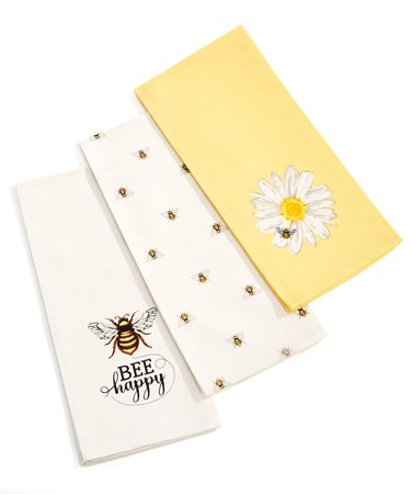 BeeTeaTowels3Asst