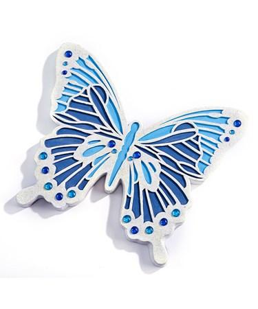 ButterflySteppingStoneWallPlaque