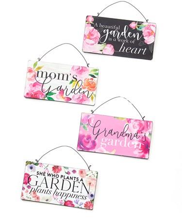 FloralWallSigns4Asst