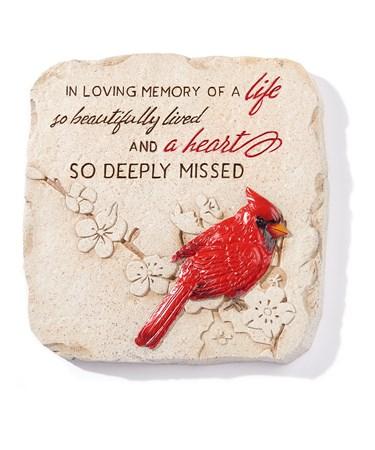 CardinalSteppingStoneWallDeacutecor