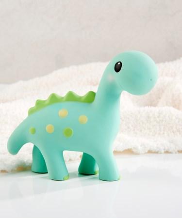 DinosaurNaturalRubberTeethingToy