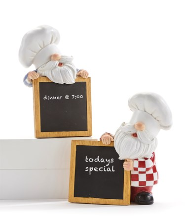 ChefGnomeandChalkboardDeacutecor2Asst