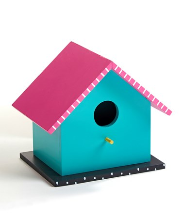 ColorfulSweetSummerBirdHouse2Asst
