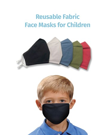 ReusableFabricMaskforChildren5Asst
