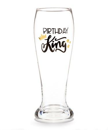 BirthdayKingBeerGlass