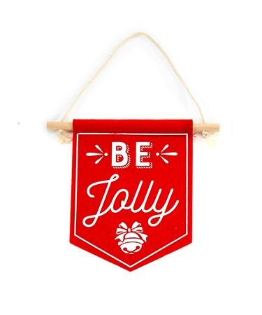 FeltBannerBeJolly