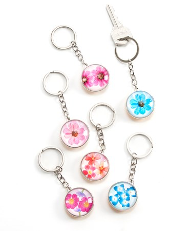 PaintedGardenKeyChains6AsstwDisplayer