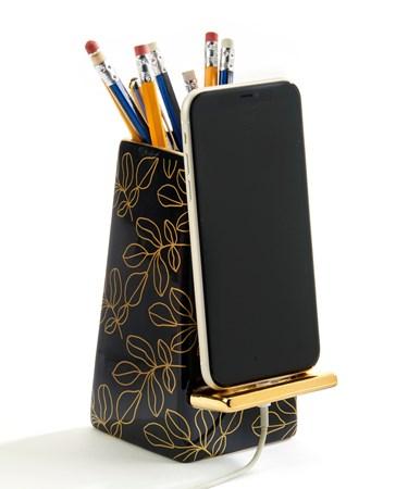 CeramicPencilCupwPhoneStand