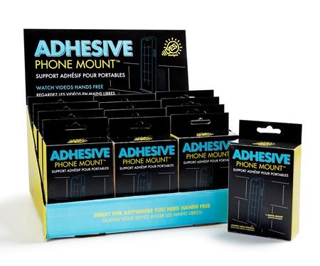 AdhesivePhoneMountwDisplayer