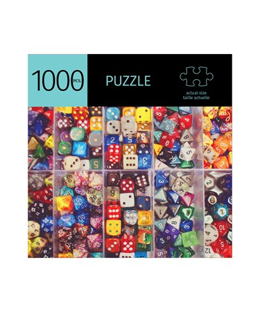 DiceDesignPuzzle1000Pieces