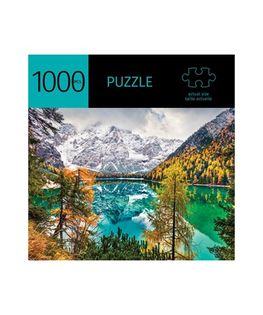 LakeMountainDesignPuzzle1000Pieces