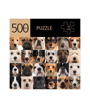 DogsDesignPuzzle500Pieces