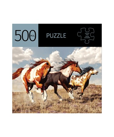 HorsesDesignPuzzle500Pieces