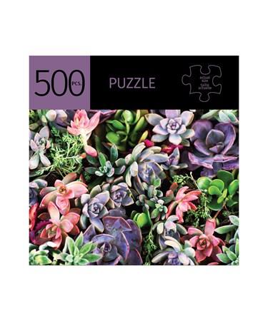 SucculentsDesignPuzzle500Pieces
