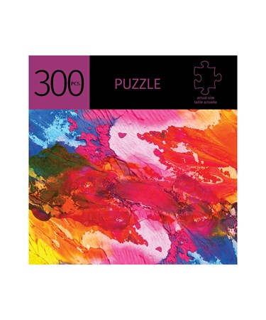 PaintStrokesDesignPuzzle300Pieces