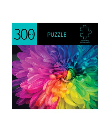 RainbowFlowerDesignPuzzle300Pieces