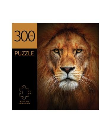 LionFaceDesignPuzzle300Pieces