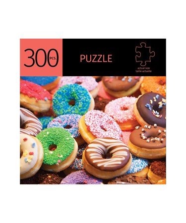 DonutsDesignPuzzle300Pieces