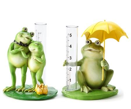 FrogFigurinewRainGauge2Asst