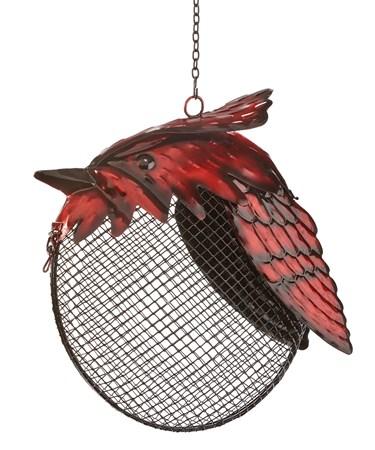 CardinalHangingBirdFeeder