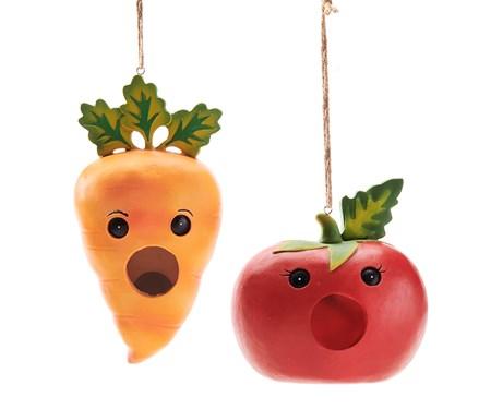 VegetableBirdhouse2Asst