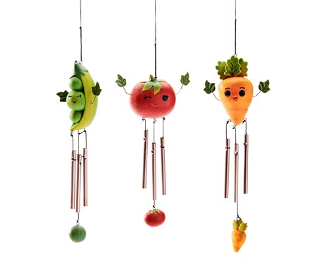 VegetableWindchime3Asst