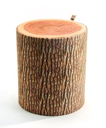 WoodDesignOttomanStool