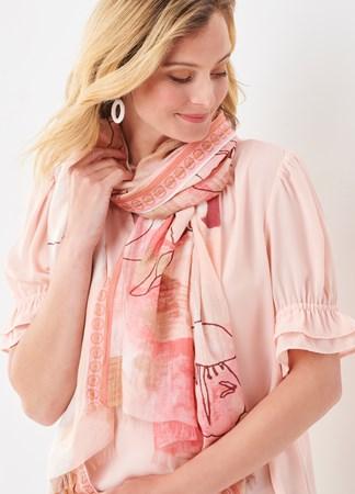 CharliePaigeWatercolorFloralScarf