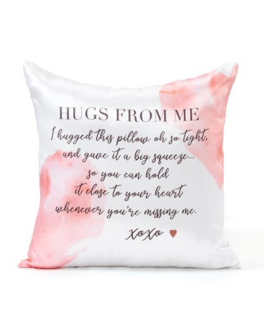 HugsFromMePillowCover