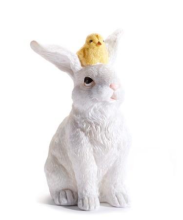 BunnywithaChickFigurine