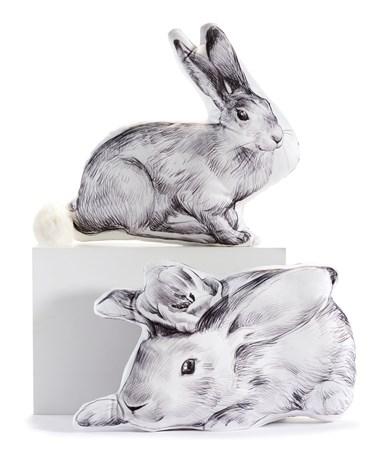 Bunny3DDesignPillow2Asst