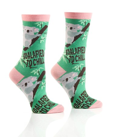 WomensCrewSockKoalafied