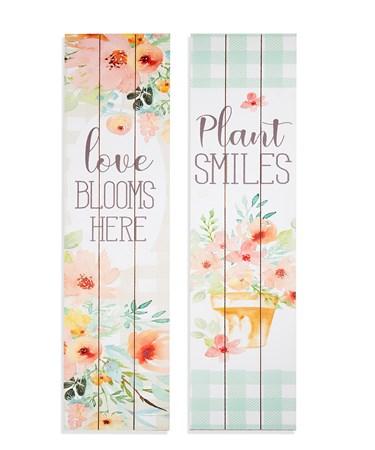 FlowerMarketSentimentLongPorchSign