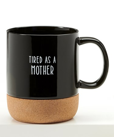 CoffeeMugwCorkCoasterBottomTiredAsAMother