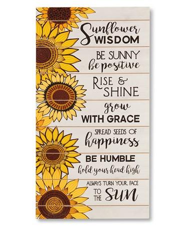SunflowerWisdomWallSign